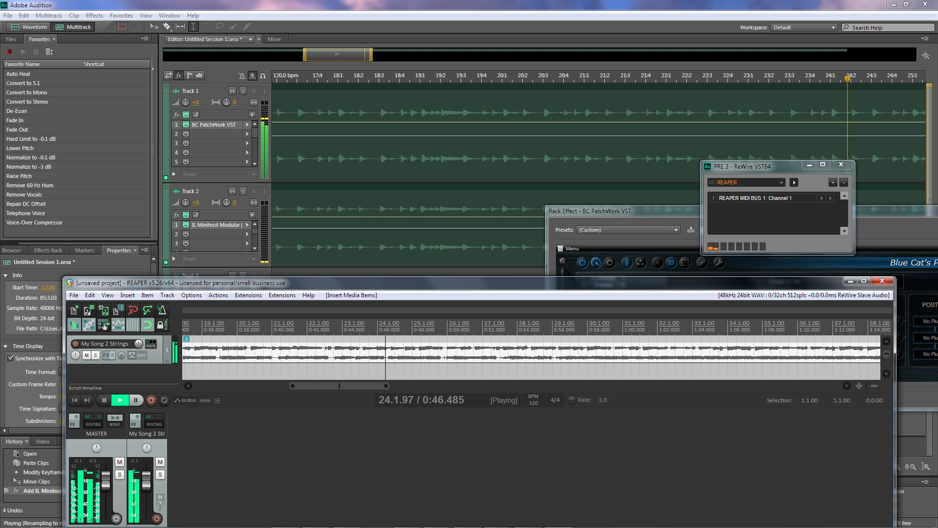 Using Virtual Instruments in Adobe Audition CC     | Adobe Community